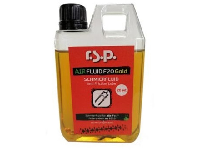 r.s.p. Airfluid F20 Gold Anti Friction Lube 250ml